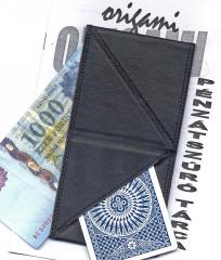 Origami pénzátszúró tárca