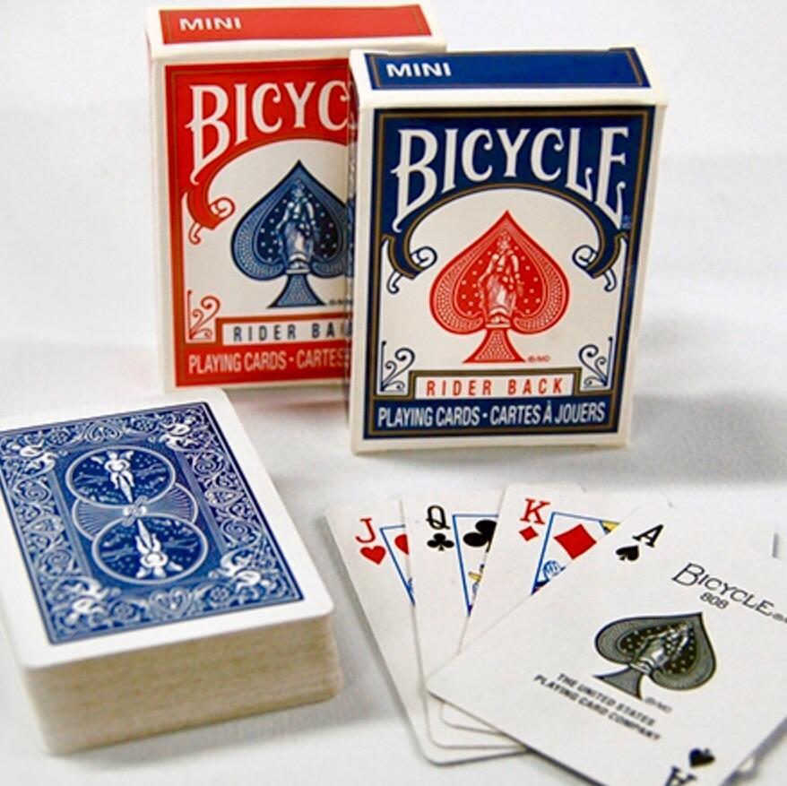 Mini Bicycle Card (kék)