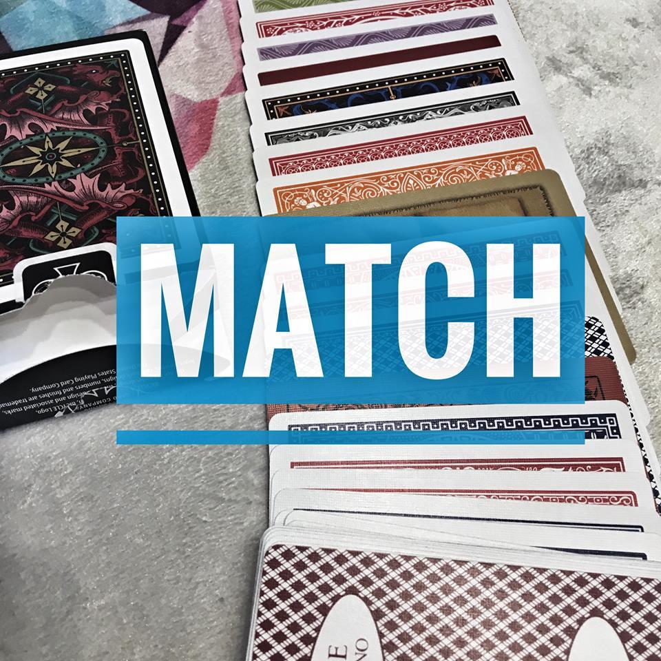 Match – páros kártyatrükk