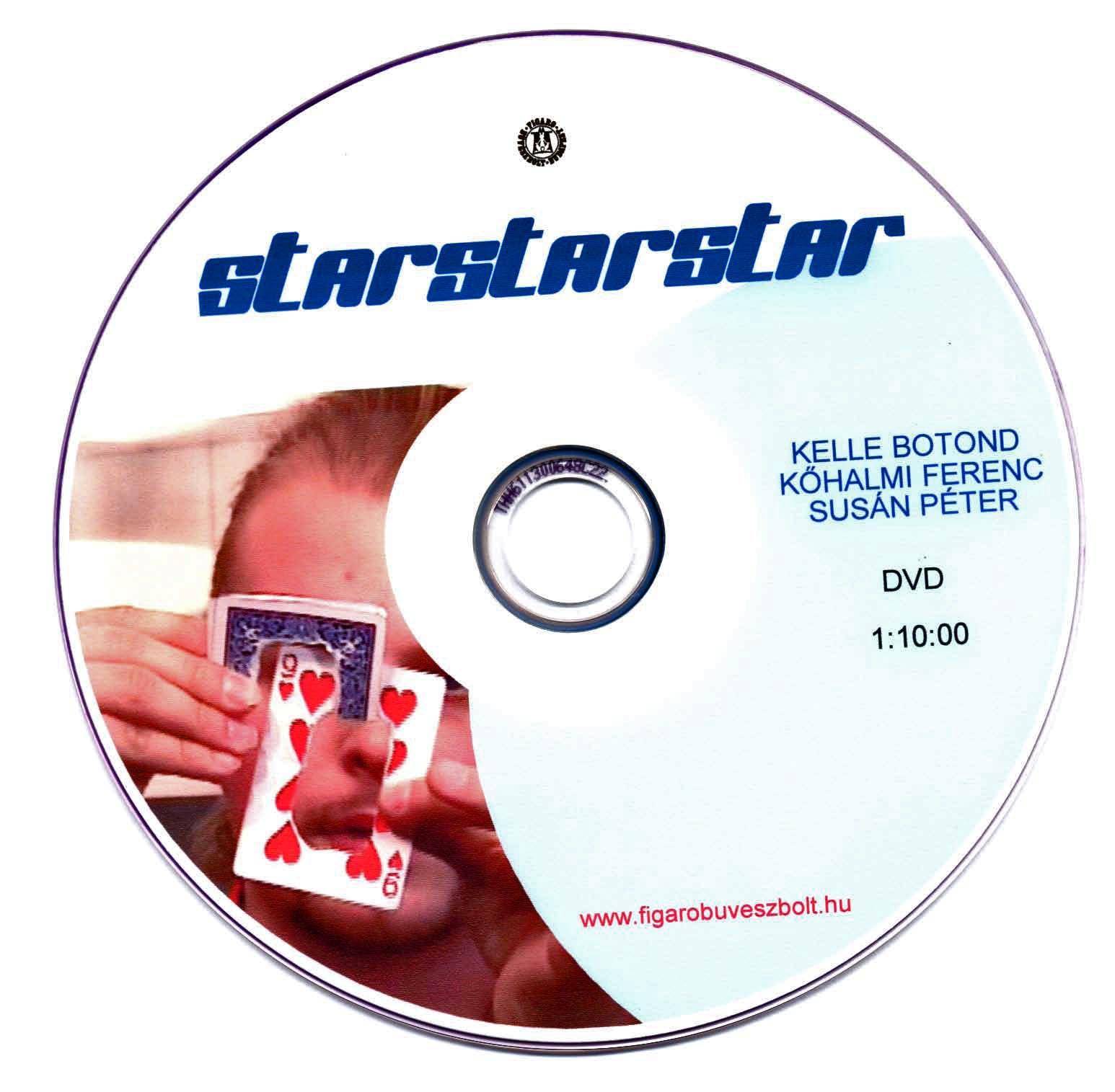 Kártyatrükkök sorozat 3. rész: Starstarstar DVD