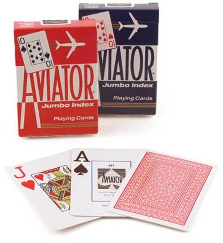 Aviator Jumbo Index (piros)