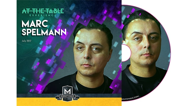 At The Table Live Marc Spelmann – Dvd