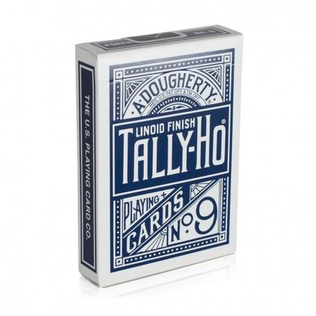 Tally-Ho (kék) – fan back