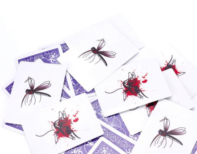 SzúnyogInvázió – párlapos kártyatrükk